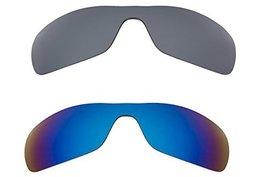 New SEEK Replacement Lenses Oakley ANTIX - Polarized Black Blue - $39.09
