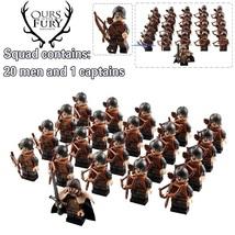 21pcs Game of Thrones Minifigures Eddard Stark & Archers Army of Winterfell Lego - $27.95