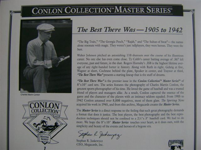 """Conlon Collection: Masters Series"""