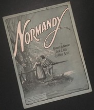 Vtg Normandy Sheet Music Russel Robinson Jack Little Addy Britt Crafts - $7.91