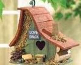 Love Shack Wood Birdhouse - $19.95