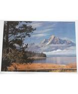 "Landscape Poster, 14""x20"",  Mount Moran Grand Teton National - $5.00"