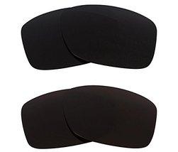 New SEEK OPTICS Replacement Lenses Oakley JUPITER SQUARED - Black Grey - $23.25