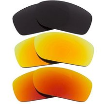 New Seek Replacement Lenses Oakley Fives Squared Polarized Black Yellow Red - $48.48