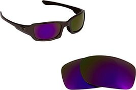 New SEEK Replacement Lenses Oakley FIVES 3.0 - Polarized Purple - $18.30