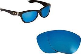 New SEEK OPTICS Replacement Lenses Oakley JUPITER - Blue image 1