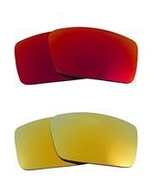 New SEEK Replacement Lenses Oakley THUMP 2 - Polarized Red Green - $33.15