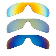 New SEEK Replacement Lenses Oakley ANTIX Polarized Yellow Blue Green - $58.38