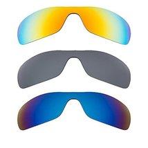 New SEEK Replacement Lenses Oakley ANTIX Polarized Yellow Blue Black - $58.38