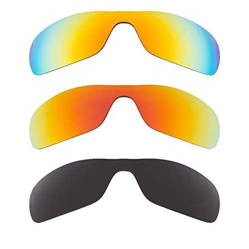 New SEEK Replacement Lenses Oakley ANTIX - Polarized Black Yellow Red