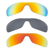 New SEEK Replacement Lenses Oakley ANTIX - Polarized Yellow Red Black - $58.38