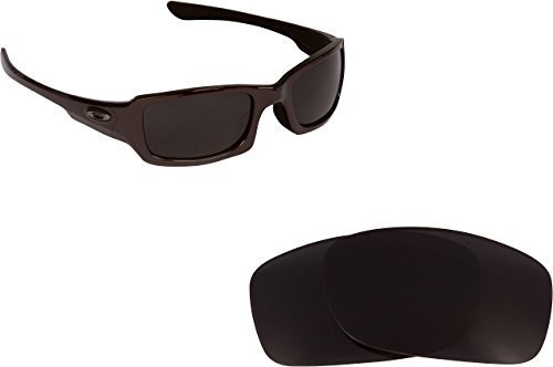 New SEEK OPTICS Replacement Lenses Oakley FIVES 3.0 - Polarized Black
