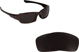 New SEEK OPTICS Replacement Lenses Oakley FIVES 3.0 - Polarized Black image 1