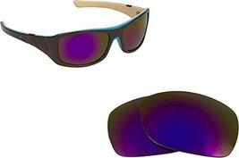 New Seek Optics Replacement Lenses Oakley Sideways   Purple - $9.38