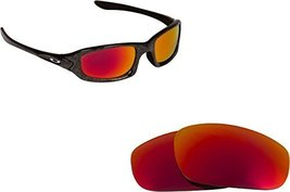 New SEEK Replacement Lenses Oakley FIVES (2009) - Polarized Red - $18.30