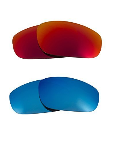 Primary image for New SEEK Replacement Lenses Oakley FIVES (2009) - Polarized Red Blue