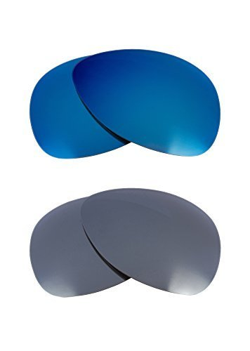 Primary image for New SEEK OPTICS Replacement Lenses Oakley PLAINTIFF - Black Blue