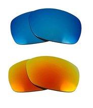 New Seek Optics Replacement Lenses Oakley Sideways   Blue Yellow - $21.27