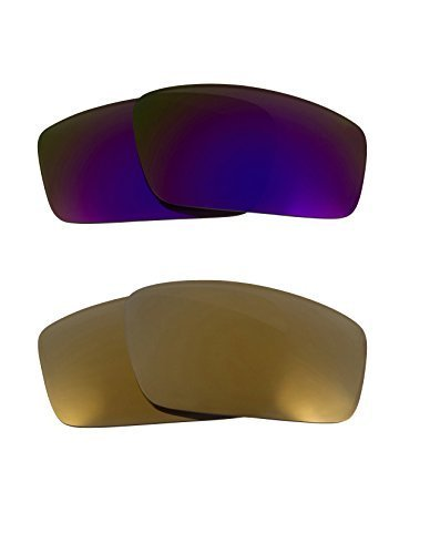 Primary image for New SEEK OPTICS Replacement Lenses Oakley SQUARE WIRE - Gold Purple
