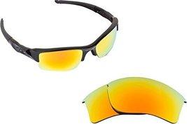 New Seek Replacement Lenses Oakley Flak Jacket Xlj Asian Fit Yellow - $13.34