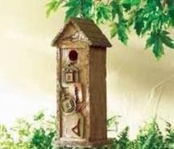 Scrapbook Birdhouse Resin Brown - $17.95