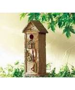 Scrapbook Birdhouse Resin Brown - $17.95