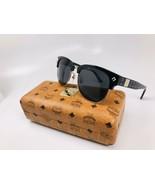 New MCM 604S 004 Black & Black Visetos Sunglasses 55mm with Case - $178.15