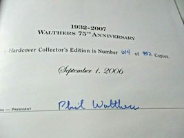 Walthers # 913-2070 2007 75th Anniversary Hard Cover # 614 of 952 Catalog (HO) image 3