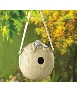 Let The Birds Play Army Canteen Birdhouse - $16.95