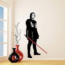(40'' x 79'') Star Wars Vinyl Wall Decal / Anakin Skywalker with Lightsaber D... - $71.71