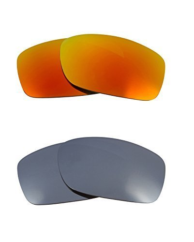 Primary image for New SEEK OPTICS Replacement Lenses Oakley FIVES 3.0 - Black Yellow