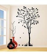 (47'' x 79'') Vinyl Wall Decal Tree Silhouette / Nature Art Decor Sticke... - $103.26