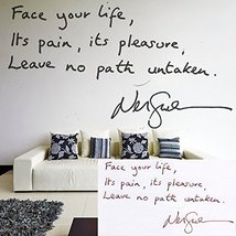 (79'' x 79'') Personalized Handwriting Vinyl Wall Decal Quote / Memorial Sign... - $154.62