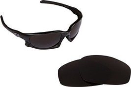 New Seek Optics Replacement Lenses Oakley Wind Jacket   Brown - $13.34