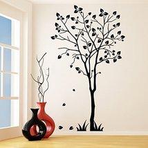 (21'' x 35'') Vinyl Wall Decal Tree Silhouette / Nature Art Decor Sticker / F... - $29.09