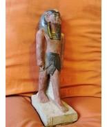 Unique Collection Antique Statue of Ancient Egyptian King Tutankhamun Us... - $94.05