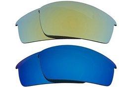 New Seek Optics Replacement Lenses Oakley O Rokr Pro   Blue Green - $23.25