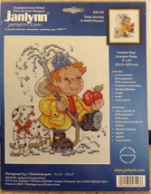 Rainy Morning Stamped Cross Stitch KIT Fireman Dalmatian Ursula Michael Janlynn - $9.99
