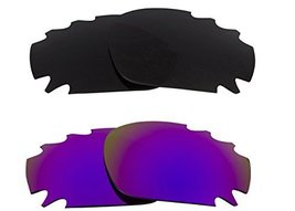 New SEEK Replacement Lenses Oakley VENTED JAWBONE Polarized Grey Purple - $33.15