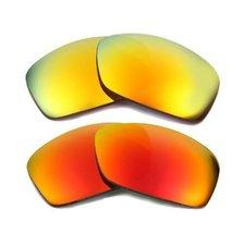 New Seek Optics Replacement Lenses Oakley Hijinx   Red Yellow - $23.25