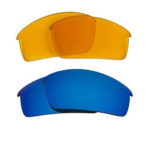 New SEEK OPTICS Replacement Lenses Oakley THUMP PRO - HI Yellow Blue