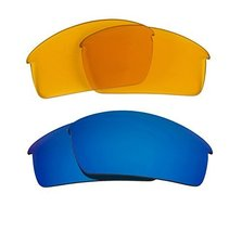 New Seek Optics Replacement Lenses Oakley Thump Pro   Hi Yellow Blue - $23.25
