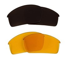 New SEEK OPTICS Replacement Lenses Oakley THUMP PRO - HI Yellow Brown - $23.25
