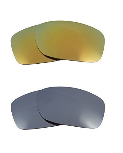Primary image for New SEEK Replacement Lenses Oakley FIVES 3.0 - Polarized Black Green