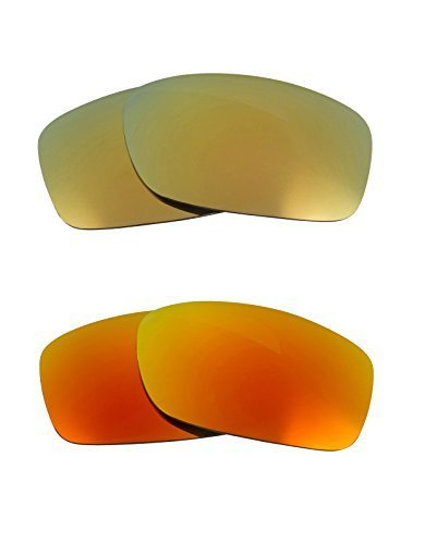 Primary image for New SEEK Replacement Lenses Oakley FIVES 3.0 - Polarized Yellow Green