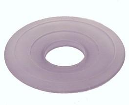 """Lavender Glass 4 1/2"""" Bobeche Bobesche For Chandelier Light Fixture Candelabra - $9.95"""