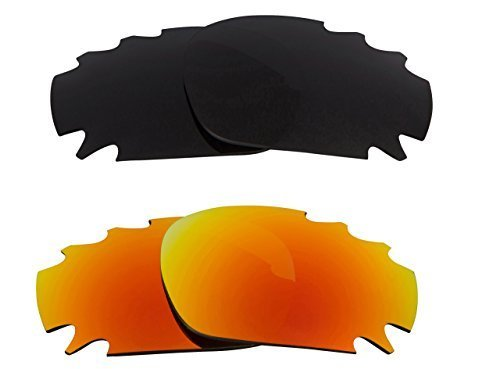 Primary image for New SEEK OPTICS Replacement Lenses Oakley VENTED JAWBONE Grey Yellow