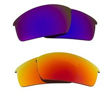 New Seek Optics Replacement Lenses Oakley O Rokr Pro   Purple Red - $23.25
