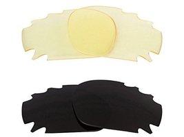 New Seek Optics Replacement Lenses Oakley Vented Jawbone   Black Hi Yellow - $23.25