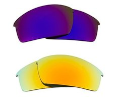 New Seek Optics Replacement Lenses Oakley O Rokr Pro   Purple Yellow - $23.25